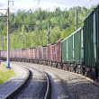 Freight train - Foto Stock