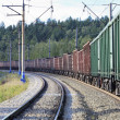Freight train — Stock Photo #6473156