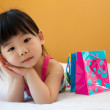 Asian baby child girl — Stock Photo