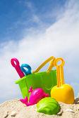 Plaj oyuncakları — Stok fotoğraf