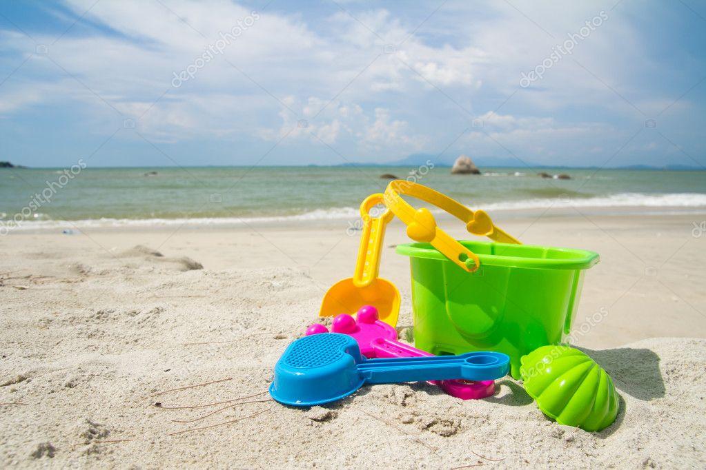 Toys For Beach : Beach toys — stock photo shirotie