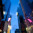 Corporate buildings at Times Square New York - Photo