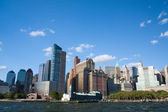 Downtown manhattan — Stockfoto