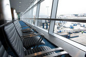 Airport terminal — Стоковое фото