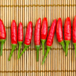 Stock Photo: Red chilli