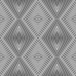 Seamless geometric rhombuses pattern. — Stock Vector #5479639