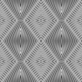 Seamless geometric rhombuses pattern. — Stock Vector