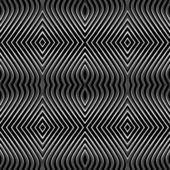 Seamless pattern geometrici. op art. — Vettoriale Stock