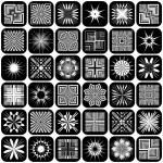 Design elements. Patterns set. — Stock Vector #5843188