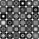 Design elements. Patterns set. — Stock Vector