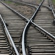 Railway track - Stock Photo