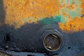 Poluição de óleo — Foto Stock