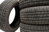 タイヤ セット — ストック写真