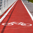 Bicycle road — Stock Photo #5678678