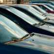 Parking Cars — Stock Photo