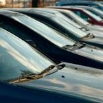 Parking Cars — Stock Photo