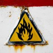Fire hazard — Stock Photo