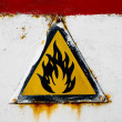 Stock Photo: Fire hazard