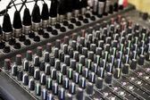 Sound Mixer — Stockfoto