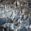 Stock Photo: Closeup of glacier