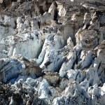 Closeup of glacier — Stock Photo