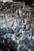 Closeup of glacier — Stockfoto