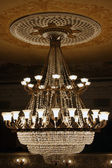 Beautiful theatrical chandelier — Stock Photo