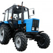 Blue tractor — Stock Photo