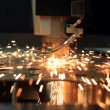 Stock Photo: Industrial laser cutter