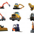 Royalty-Free Stock Photo: Set of a building machines