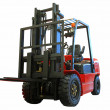 Forklift loader - Stock Photo