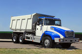 Dump-body truck — Stock Photo