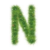 Grass Alphabet A-Z — Stock Photo