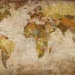 World Map — Stockfoto