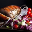 Pork and Vegetables - Stock Photo