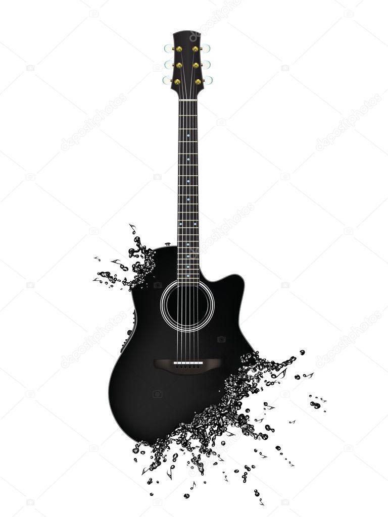 Electric Guitar — Stock Photo © rastudio #6365213