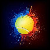 Tenisový míč — Stock vektor