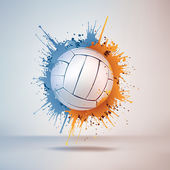 Volleybal bal — Stockvector