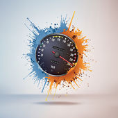 Speedometer — Vector de stock