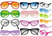 Sunglasses, vector — Stock Vector