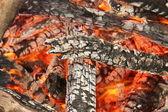 Gl÷dande kol — Stockfoto