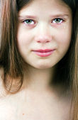 Tearful girl — Stock Photo