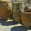 Stock Photo: Antique clay jars