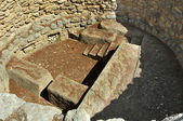 Knossos pit — Stock Photo