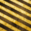 Grunge striped cunstruction background - 图库照片