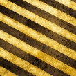 Grunge striped cunstruction background — Stock Photo