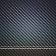 Stock Photo: Horizontally Stitched carbon fiber