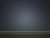 Horizontally Stitched carbon fiber — Stock Photo