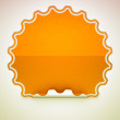 Orange spotted hamous sticker or label — Stock Photo #5600847