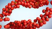 Tasty Tomatoe Cherry flows — Stock Photo